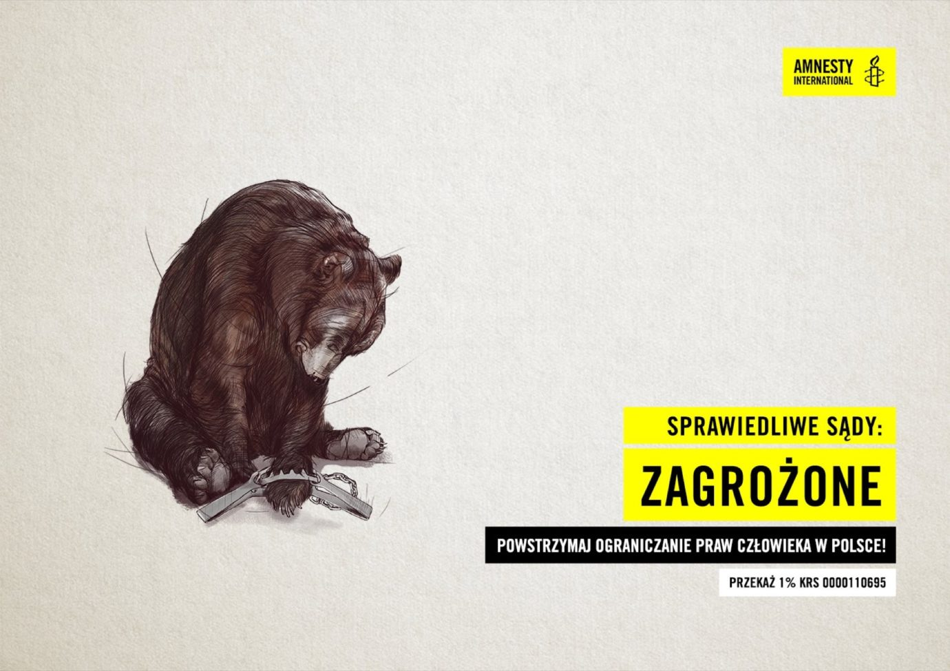 Client: Amnesty International Polska / Agency: TWIN. digital collective