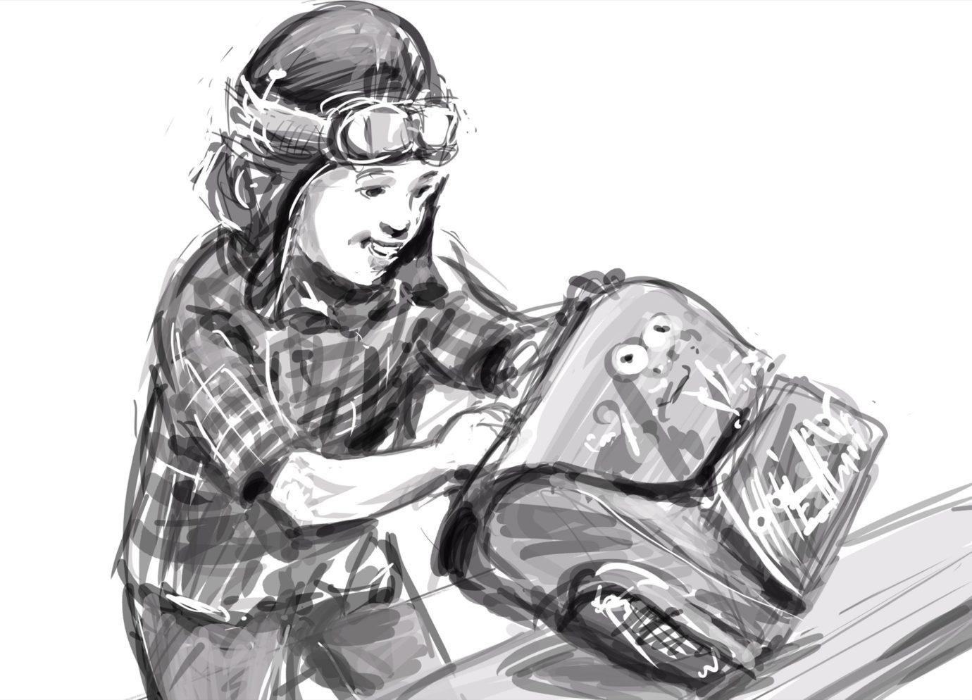 ilustracje / storyboardy