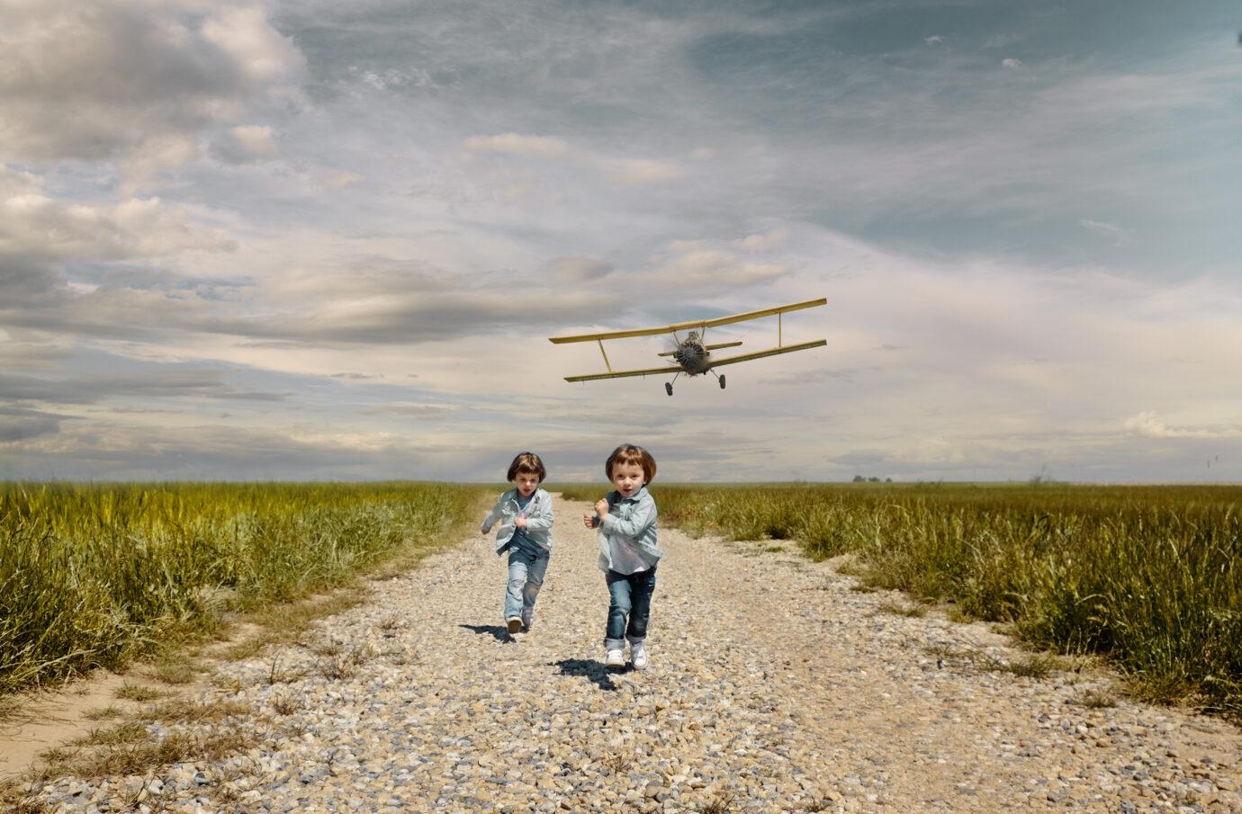 start – samolot