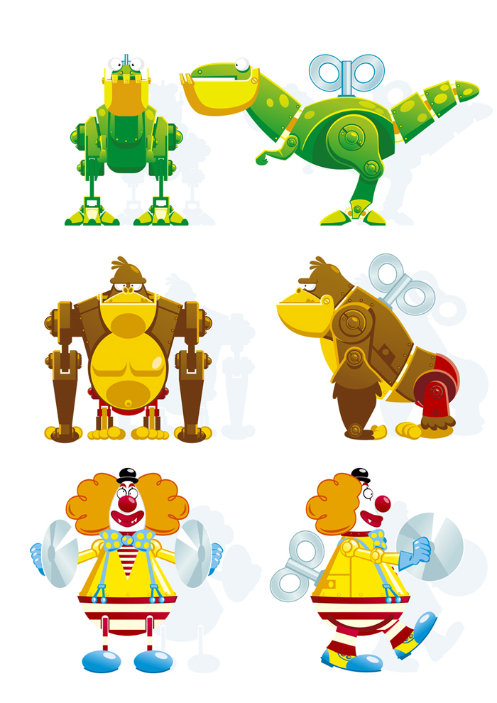 projekty postaci